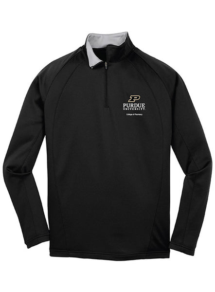 Purdue College of Pharmacy 1/4 Zip Jacket, Click to See Larger Image