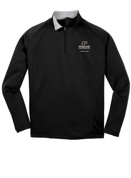 Purdue Polytechnic Institute 1/4 Zip Jacket, Click to See Larger Image