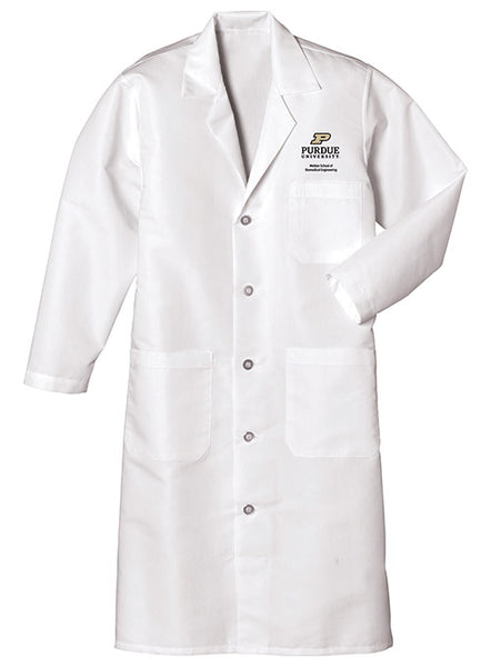Purdue Weldon School of Biomedical Engineering Lab Coat, Click to See Larger Image