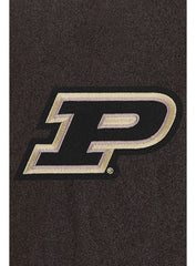 Purdue Reverse Quilt Lining Button Up Jacket