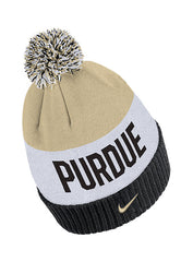 Purdue Nike Color Block Cuffed Knit Hat