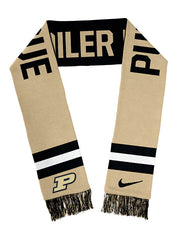 Purdue Nike Boiler Up Two-Sided Knit Scarf