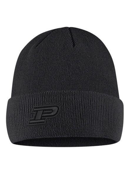 Purdue Nike Cuff Beanie, Click to See Larger Image