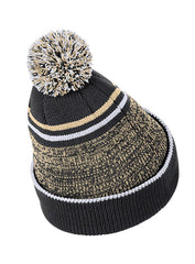 Purdue Nike Sideline Heather Pom Knit Hat