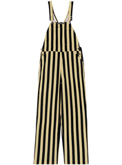Purdue Striped Overalls