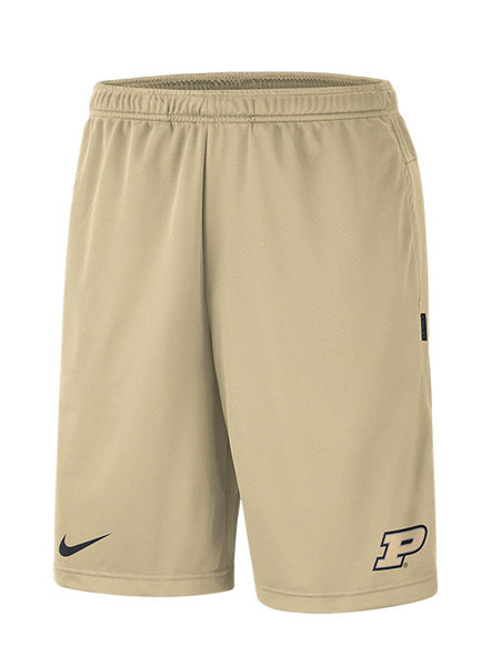 Purdue Nike Sideline Coaches Knit Shorts, Click to See Larger Image