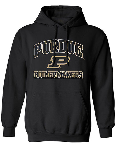 Purdue Heart & Soul Hooded Sweatshirt, Click to See Larger Image