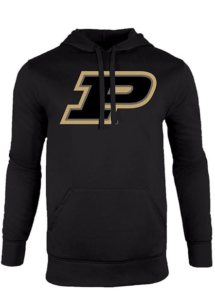 Purdue Logo Tech Fleece Hooded Sweatshirt, Click to See Larger Image