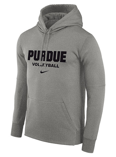 Purdue Nike Volleyball Therma Pullover Hooded Sweatshirt, Click to See Larger Image