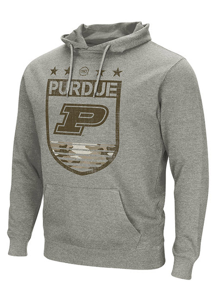 Purdue Operation Hat Trick Pullover Hooded Sweatshirt, Click to See Larger Image