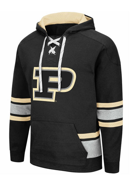 Purdue Hockey Hooded Sweatshirt, Click to See Larger Image