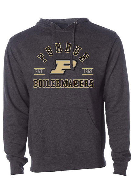 Purdue Boilermakers Est. 1869 Hooded Sweatshirt, Click to See Larger Image