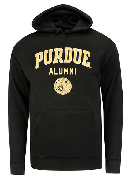 Purdue Alumni Seal Hooded Sweatshirt, Click to See Larger Image