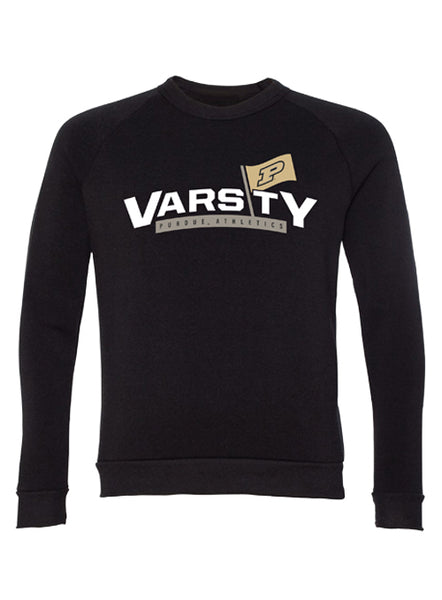 Purdue Varsity P Crew Sweatshirt, Click to See Larger Image