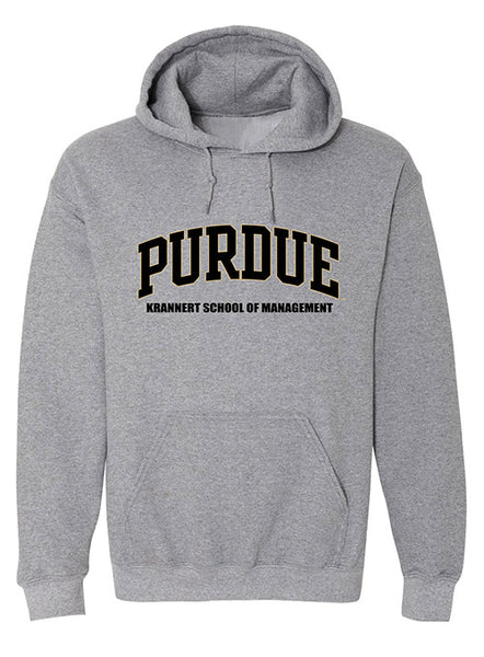 Purdue Krannert School of Management Hooded Sweatshirt, Click to See Larger Image