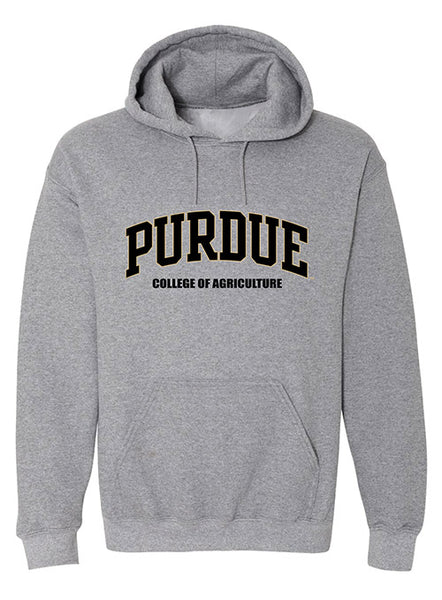 Purdue College of Agriculture Hooded Sweatshirt, Click to See Larger Image