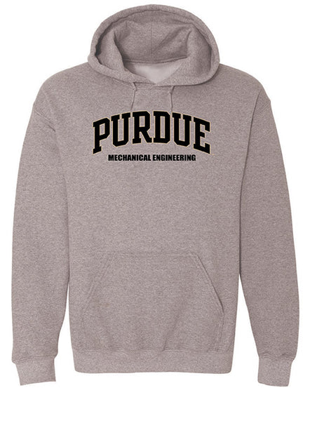 Purdue College of Mechanical Engineering Hooded Sweatshirt, Click to See Larger Image