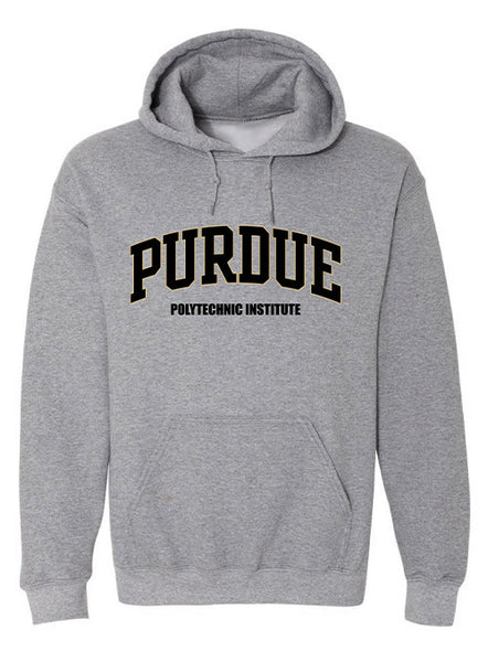 Purdue Polytechnic Institute Hooded Sweatshirt, Click to See Larger Image