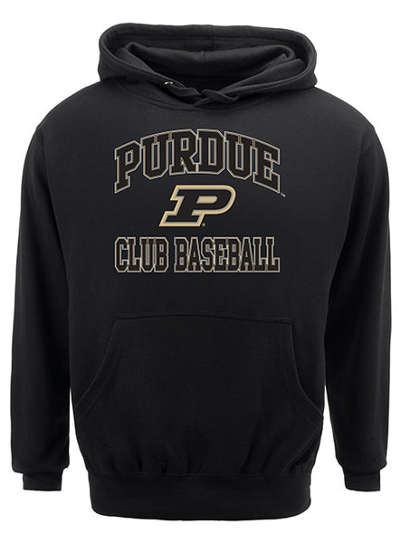 Purdue Classic Collegiate Club Baseball Sweatshirt, Click to See Larger Image