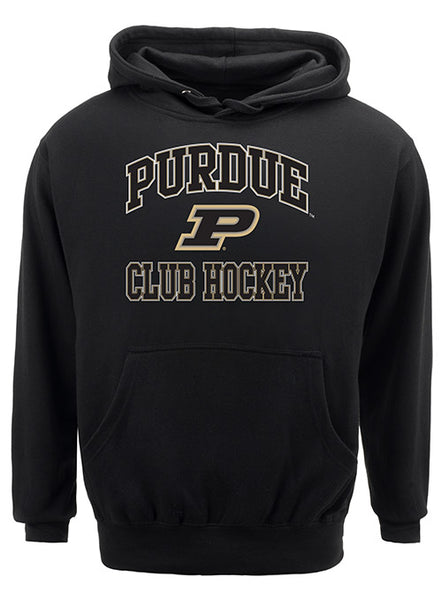 Purdue Classic Collegiate Club Hockey Sweatshirt, Click to See Larger Image