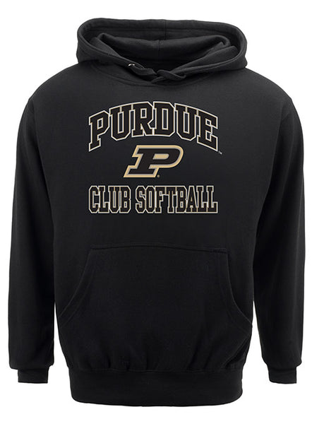 Purdue Classic Collegiate Club Softball Sweatshirt, Click to See Larger Image