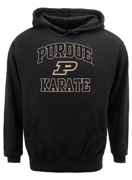 Purdue Classic Collegiate Karate Sweatshirt, Click to See Larger Image