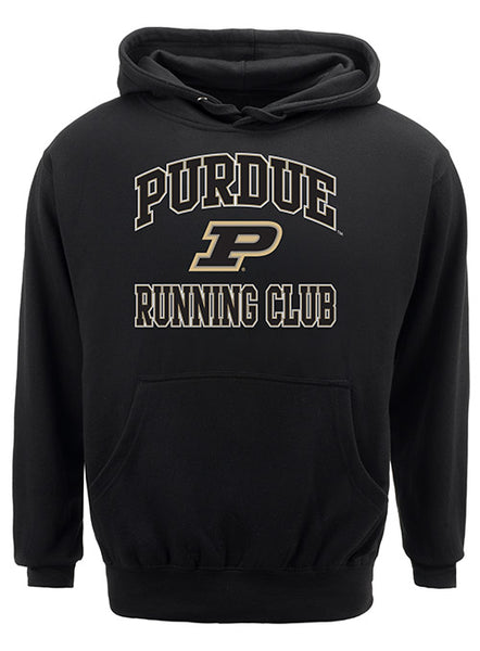 Purdue Classic Collegiate Running Club Sweatshirt, Click to See Larger Image