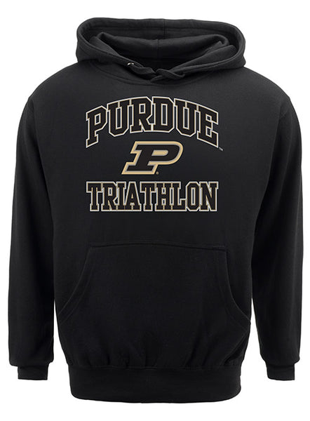 Purdue Classic Collegiate Triathlon Sweatshirt, Click to See Larger Image