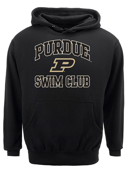 Purdue Classic Collegiate Swim Club Sweatshirt, Click to See Larger Image