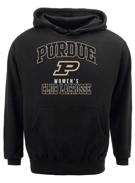 Purdue Classic Collegiate Women's Club Lacrosse Sweatshirt, Click to See Larger Image