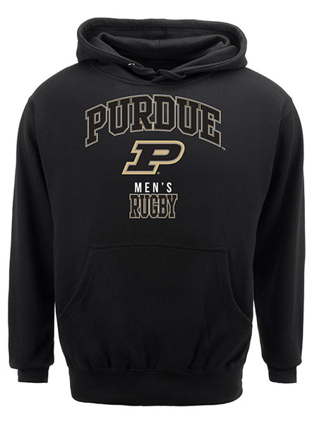 Purdue Classic Collegiate Men's Rugby Sweatshirt, Click to See Larger Image