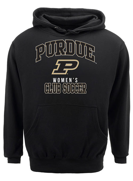 Purdue Classic Collegiate Women's Club Soccer Sweatshirt, Click to See Larger Image