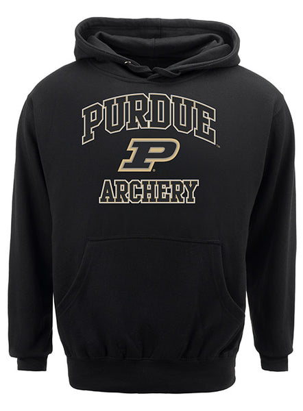Purdue Classic Collegiate Archery Sweatshirt, Click to See Larger Image