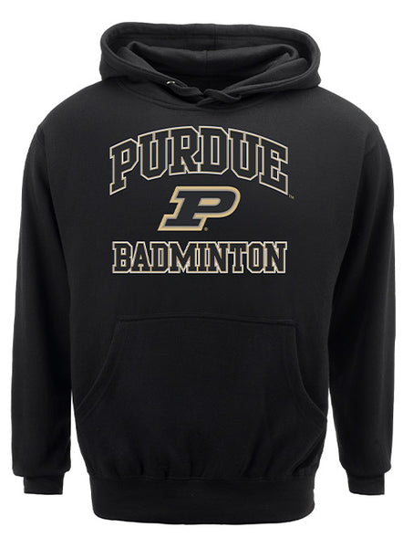 Purdue Classic Collegiate Badminton Sweatshirt, Click to See Larger Image