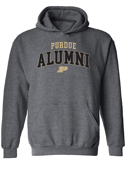 Purdue Alumni Hooded Sweatshirt, Click to See Larger Image