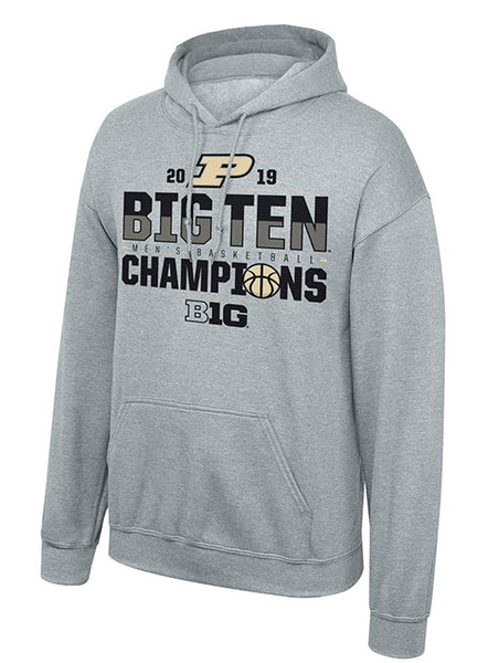 Purdue Men's Basketball Big Ten Regular Season Champions Hooded Sweatshirt, Click to See Larger Image