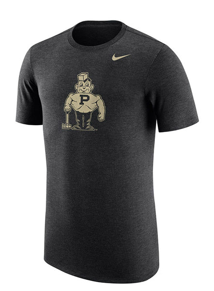 Purdue Nike Vault Tri-Blend T-Shirt, Click to See Larger Image