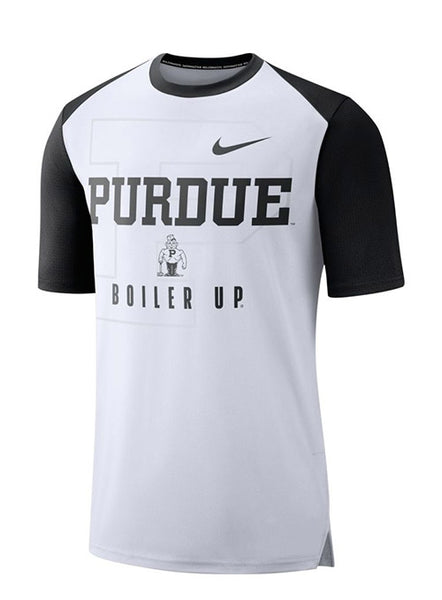 Purdue Nike Breathe Dri-FIT® T-Shirt, Click to See Larger Image