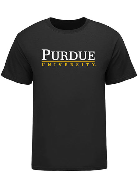 Purdue University Signature Logo T-Shirt, Click to See Larger Image