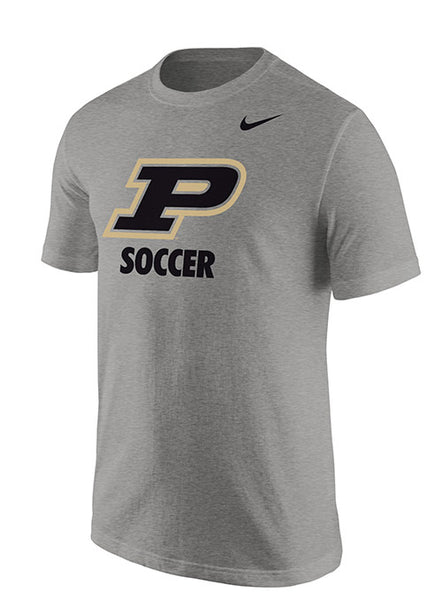 Purdue Nike Soccer T-Shirt, Click to See Larger Image