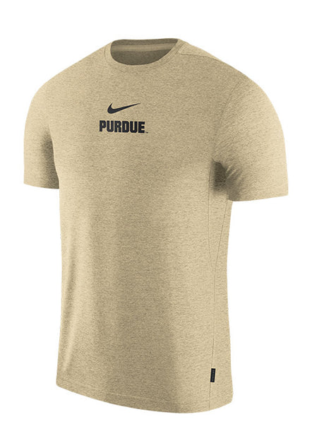 Purdue Nike Dri-FIT® Sideline Coaches T-Shirt, Click to See Larger Image