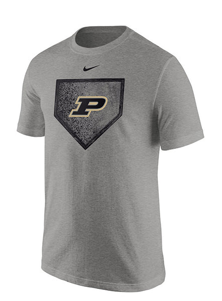Purdue Nike Home Plate Baseball T-Shirt, Click to See Larger Image