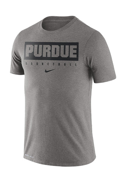 Purdue Nike Dri-FIT® Basketball Practice T-Shirt, Click to See Larger Image