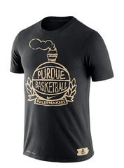 Purdue Nike Crest Dri-FIT® Cotton T-Shirt
