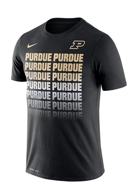 Purdue Nike Fade Dri-FIT® T-Shirt, Click to See Larger Image