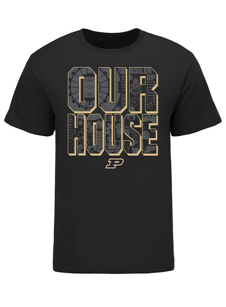 Purdue Mackey Arena OUR HOUSE T-Shirt, Click to See Larger Image