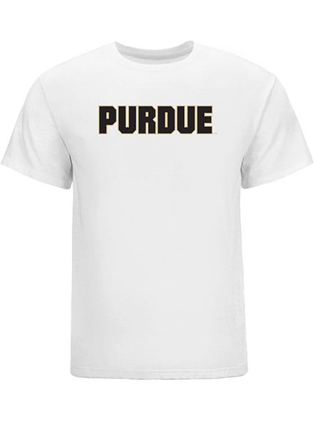 Purdue Wordmark Logo T-Shirt, Click to See Larger Image