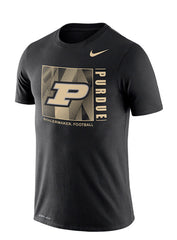 Purdue Nike Team Issue Dri-FIT® Cotton T-Shirt