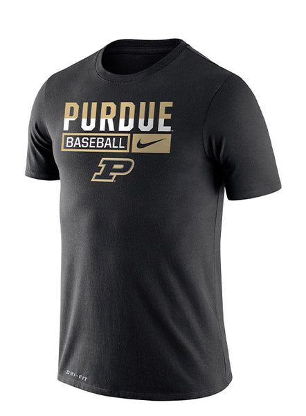 Purdue Nike Baseball Dri-FIT® T-Shirt, Click to See Larger Image