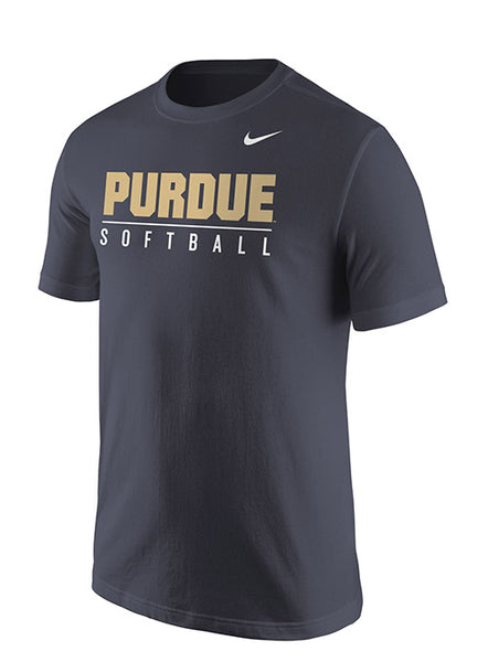 Purdue Nike Softball T-Shirt, Click to See Larger Image